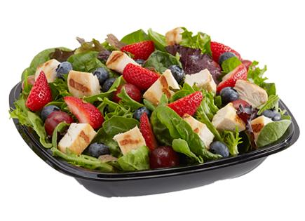 Berry Tossed Chicken Salad
