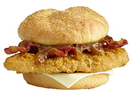 Gold Rush Chicken Sandwich