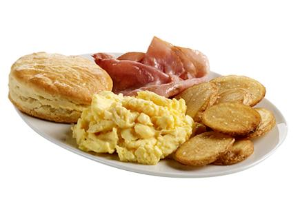 Scrambled Egg Platter